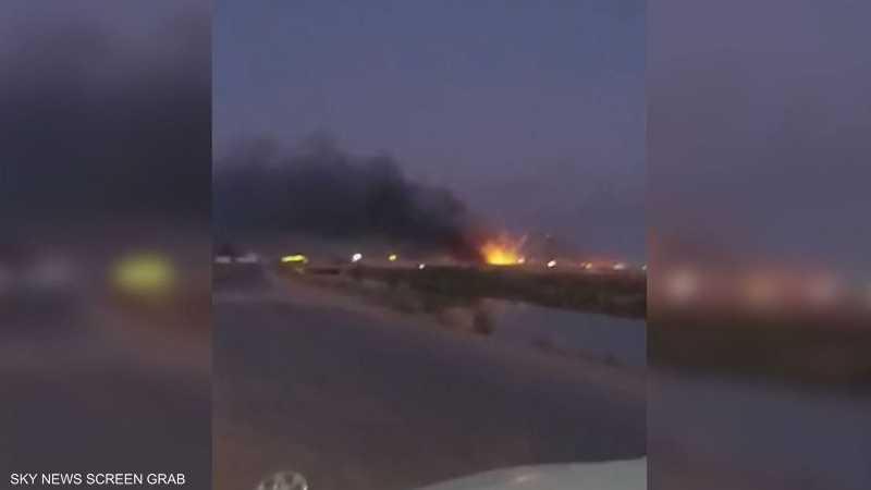 انفجارات في مخازن أسلحة تابعة للحشد الشعبي