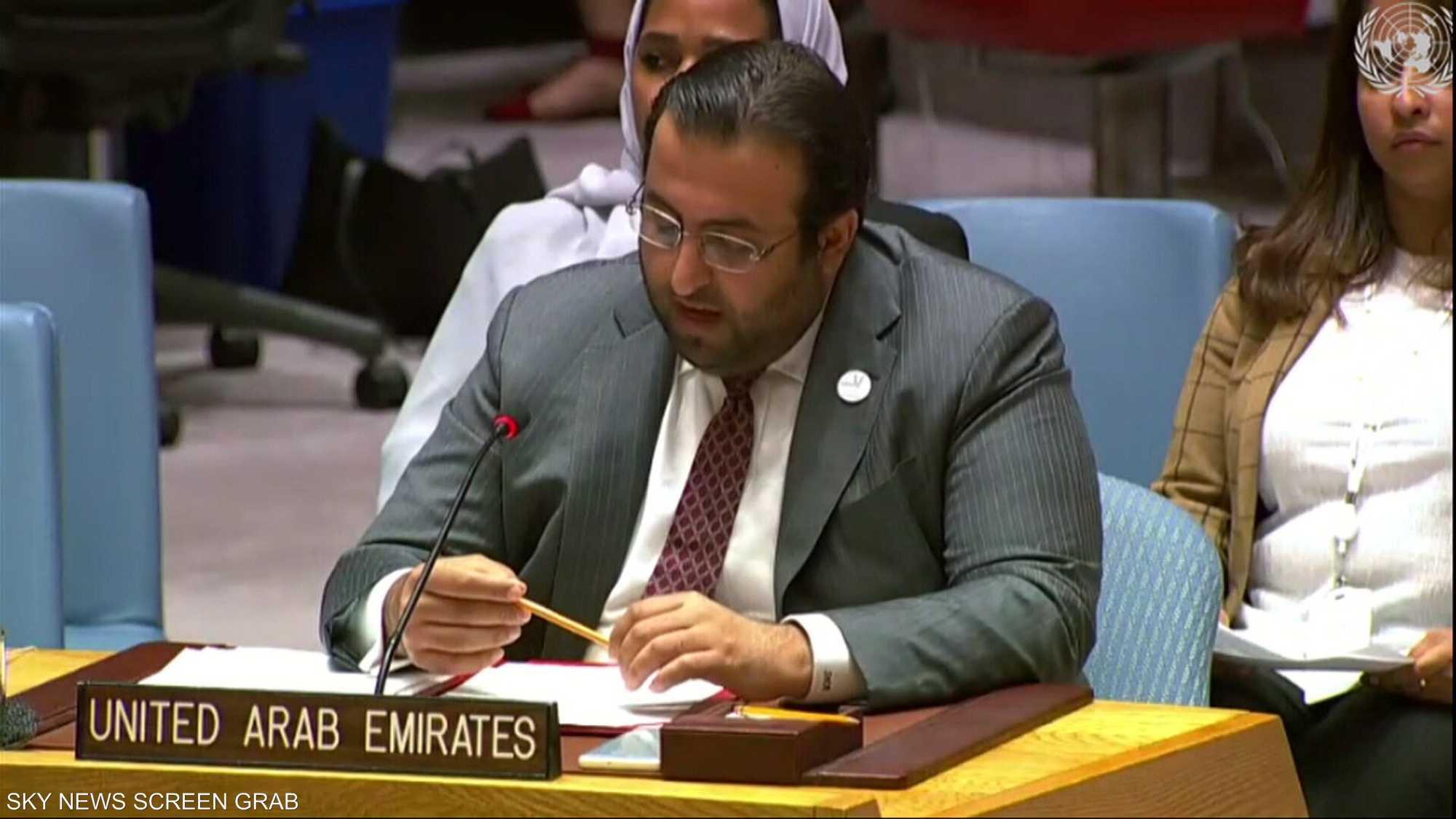 الشامسي: الإمارات دعت دائما إلى الحوار لحل خلافات اليمن