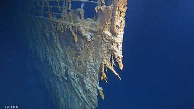 """صور جديدة تظهر تحلل """"تيتانيك"""" في أعماق البحار"""