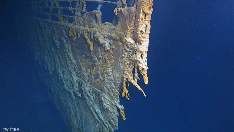لم تبلغ السفينة وجهتها، حيث غرقت ليل 15-14 أبريل