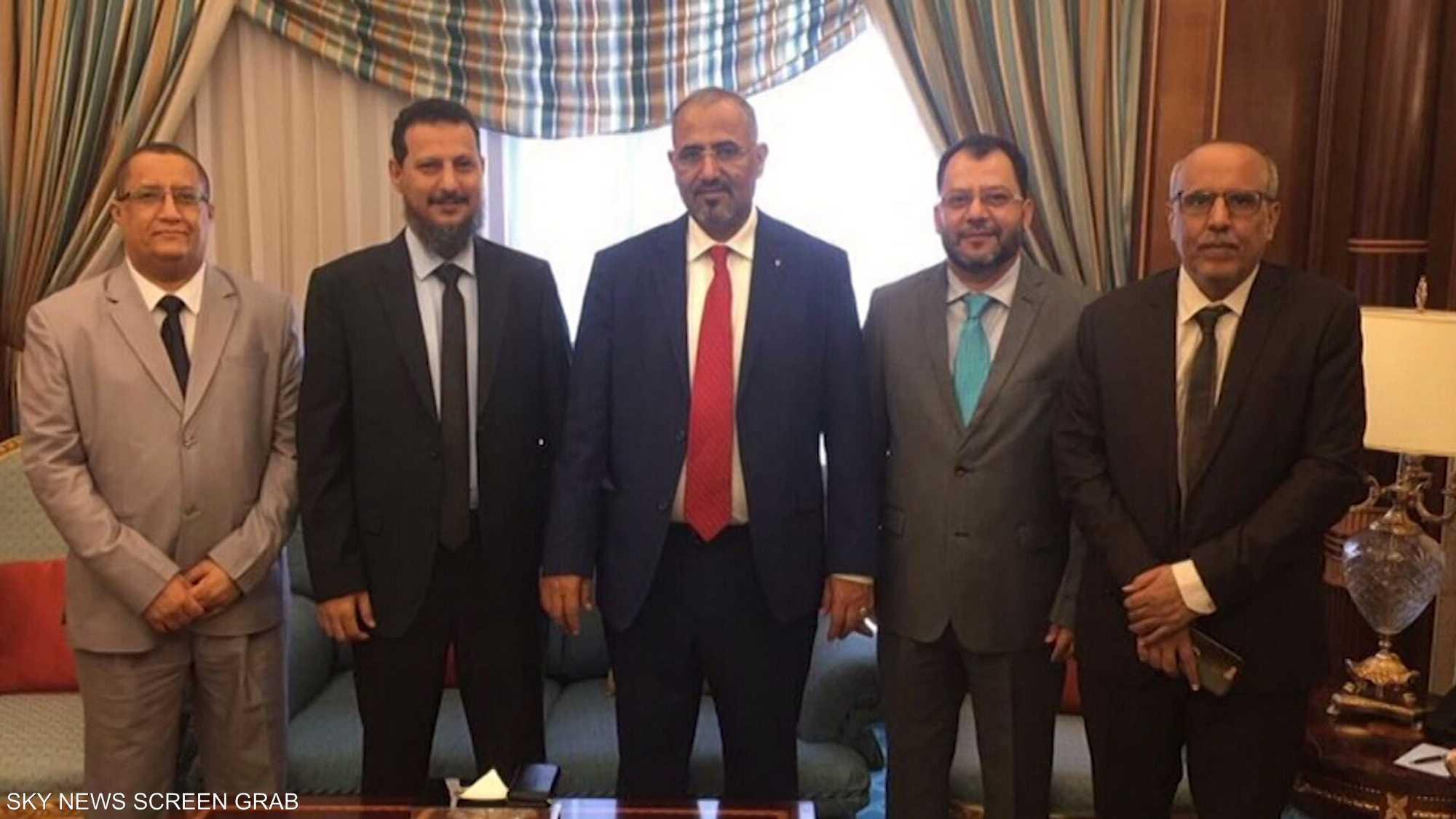 المجلس الانتقالي الجنوبي اليمني يواصل زيارته إلى جدة