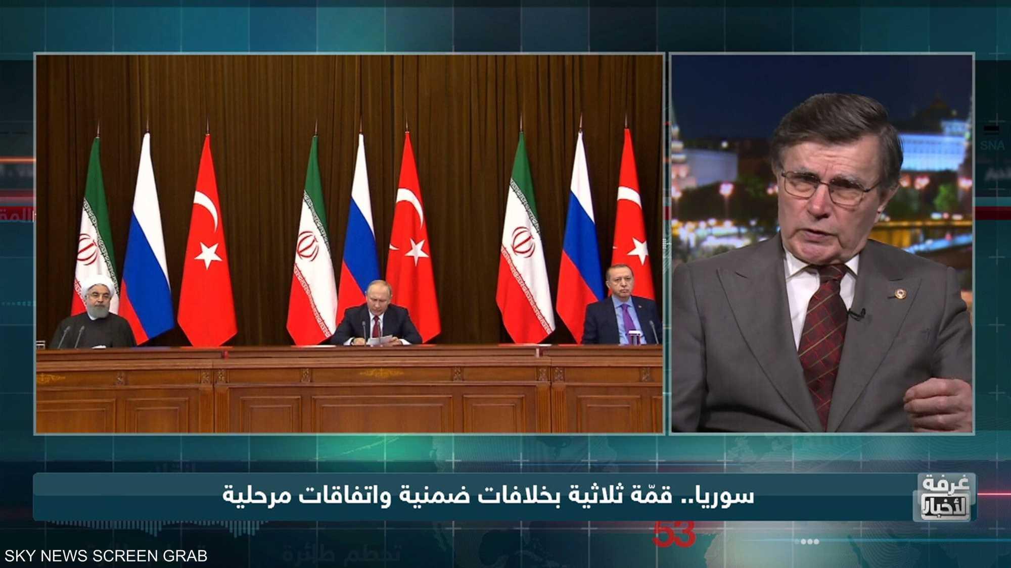 تركيا.. محاولات إعادة إيران إلى المشهد السوري