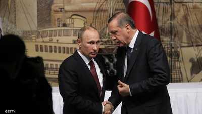 أردوغان لبوتن: هجمات الجيش السوري تهدد الأمن التركي