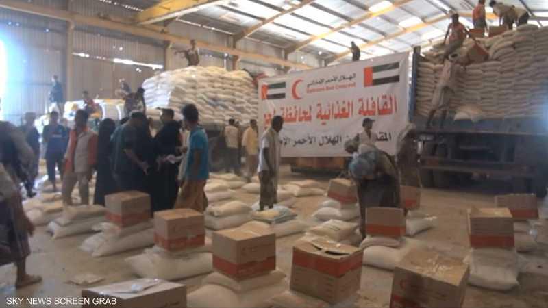 مساعدات السعودية والإمارات عنوان بارز للعمل الإنساني باليمن