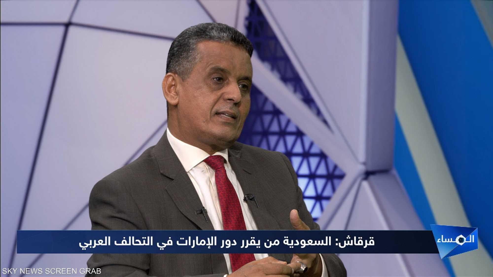 قرقاش: السعودية من يقرر دور الإمارات في التحالف العربي