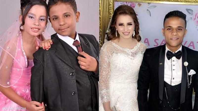 شمس وإيمان أقاما مؤخرا حفل زفاف في السنبلاوين