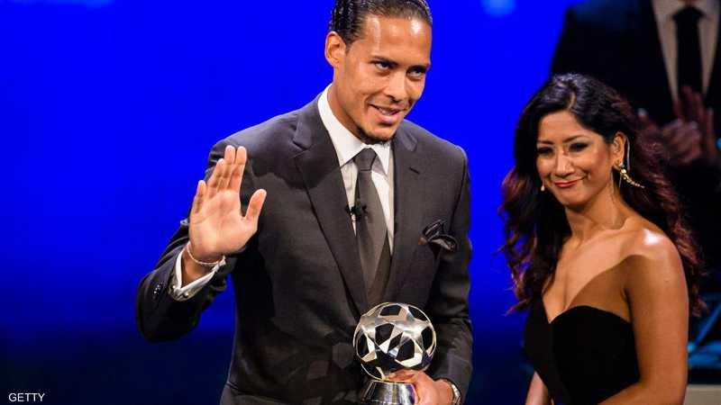 فان دايك حصل على الجائزة الأهم كأفضل لاعب في أوروبا