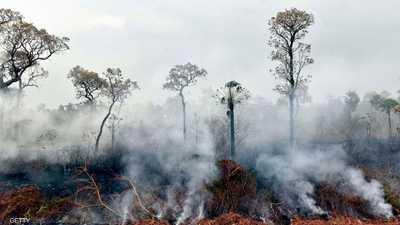 """حرائق البرازيل """"مستعرة"""".. والأمازون تحت وطأة النار"""