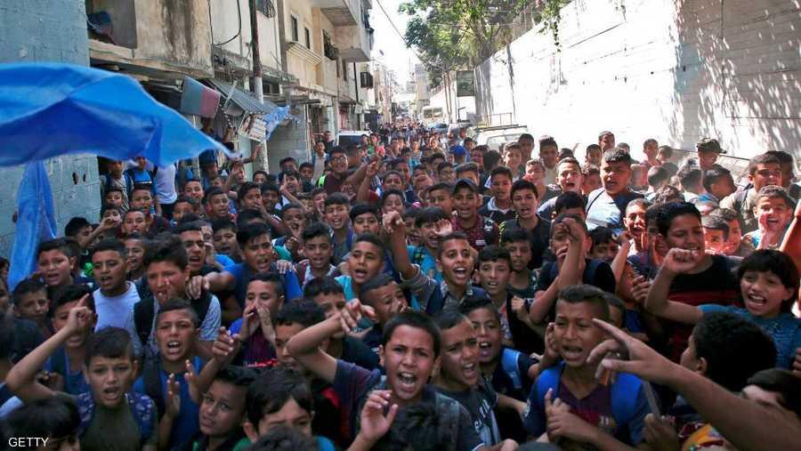 120 ألف طالب فلسطيني يبدأون عامهم الدراسي بالأردن 1-1280146