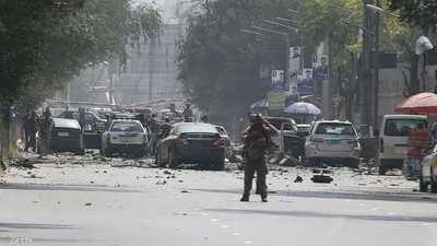 قتلى بانفجار ضخم في كابل.. وطالبان تعلن مسؤوليتها