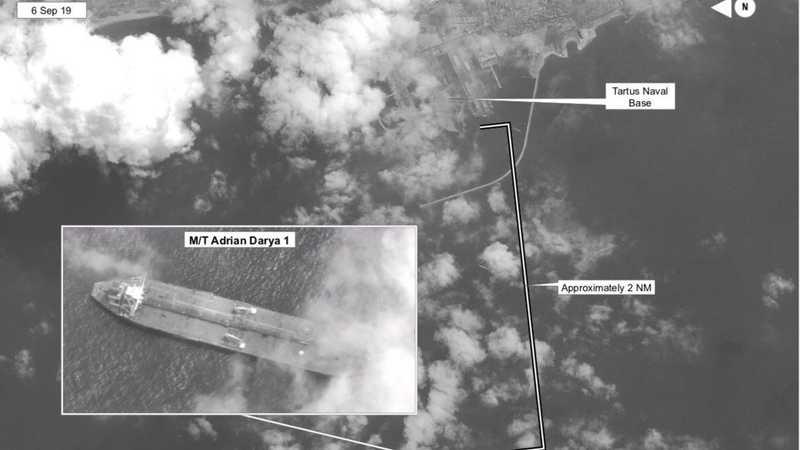 أرفق بولتون تغريدته بصورة ملتقطة من الأقمار الصناعية.