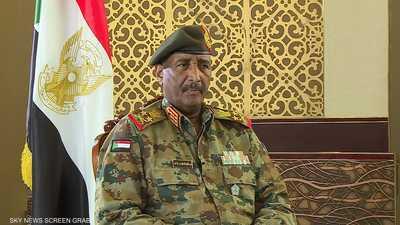 رئيس مجلس السيادة السوداني عبدالفتاح البرهان