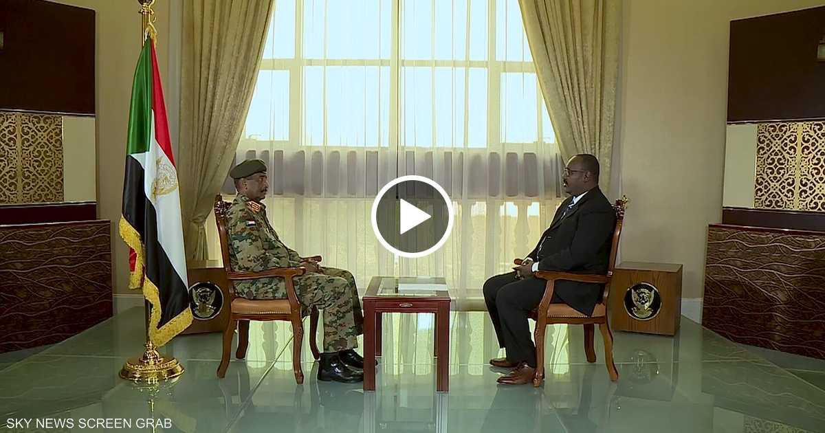 لقاء خاص مع رئيس المجلس السيادي السوداني
