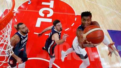 """فرنسا تحقق """"مفاجأة"""" وتقصي بطل العالم بمونديال السلة"""