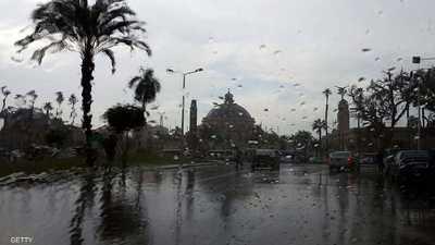 موجة طقس غير مستقر تضرب محافظات مصر
