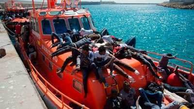 ألمانيا مستعدة لاستقبال ربع المهاجرين الذين يصلون إيطاليا
