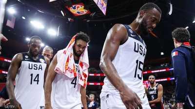 أميركا تودع مونديال السلة بأسوأ مركز في تاريخها