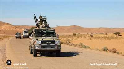 الجيش الليبي يسقط طائرة إيطالية بلا طيار.. وروما تعلق