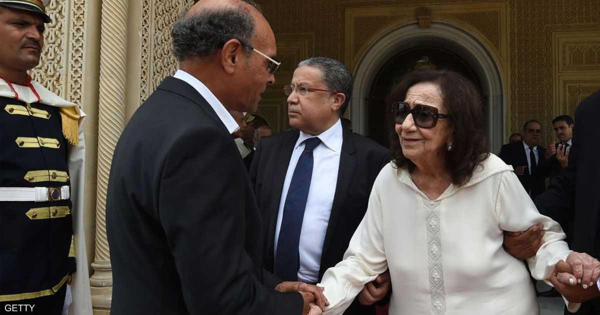وفاة أرملة الرئيس التونسي الراحل السبسي
