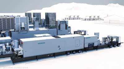 أقوى وحدة طاقة متنقلة غازية في العالم