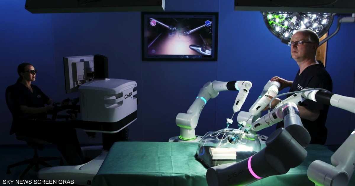 ثورة طبية.. روبوت يساعد في عمليات جراحية بالبطن