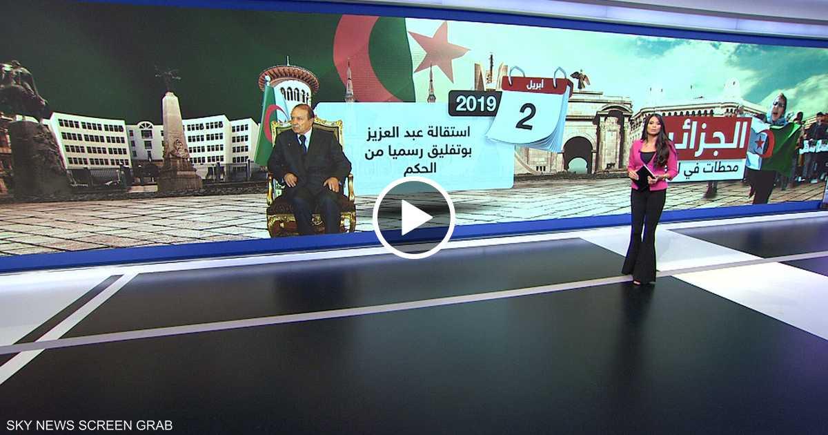 محطات التغيير في الجزائر