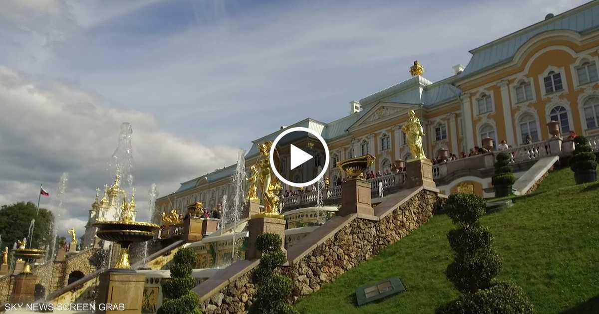 قصر بيترهوف في روسيا.. معجزة الإبداع الهندسي