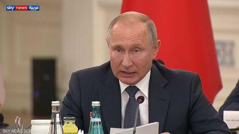 بوتن: لا يمكن السماح بتقسيم سوريا إلى دويلات