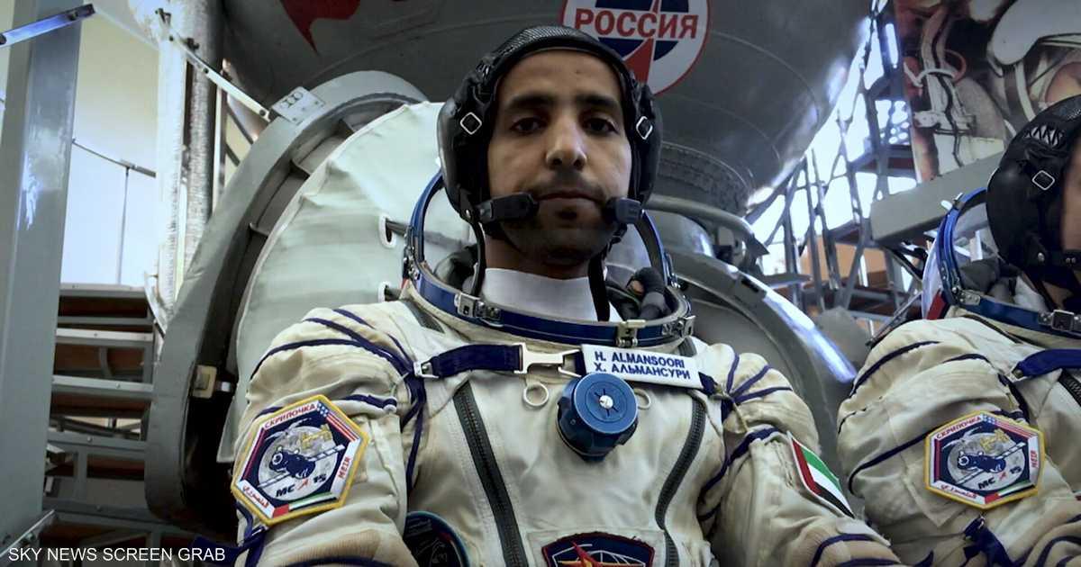 هزاع المنصوري.. أول عربي إلى محطة الفضاء الدولية