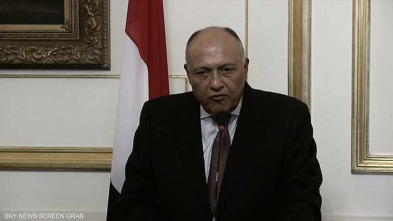 شكري: مصر تدعم السعودية في مواجهة المخاطر