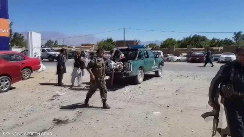 انفجار يستهدف حشدا انتخابيا للرئيس الأفغاني