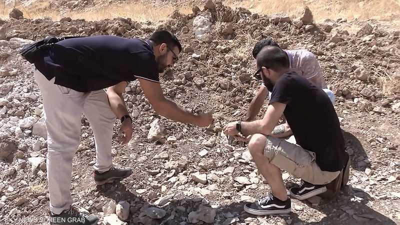اكتشاف موقع أثري بإقليم كردستان