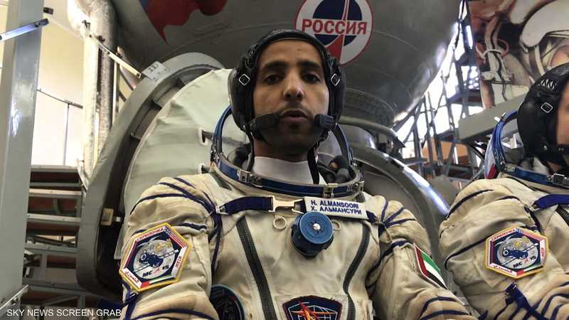 لقاء خاص مع رائد الفضاء الإماراتي