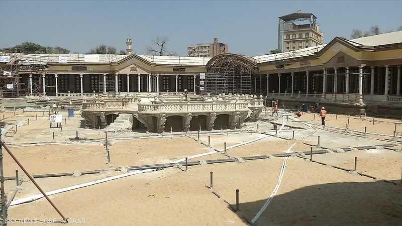 الآثار المصرية تبدأ ترميم قصر محمد علي باشا