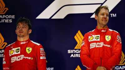 فورمولا 1.. فيتيل يحقق انتصاره الأول منذ 2018 رغم غضب زميله