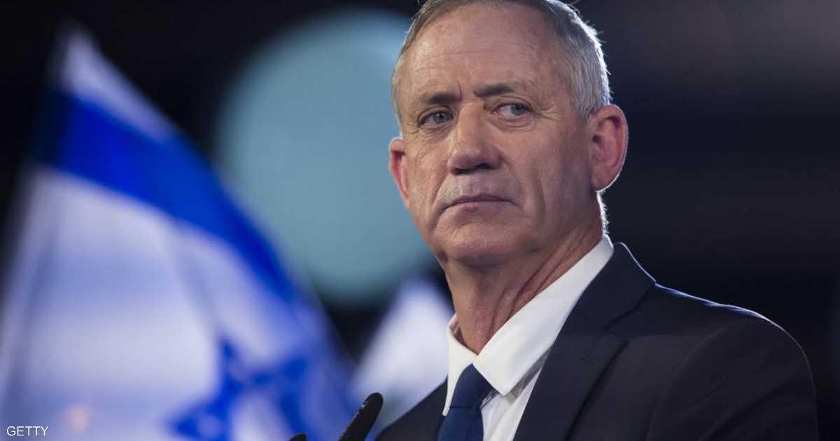 بيني غانتس: على خطة ضم أراض بالضفة الغربية
