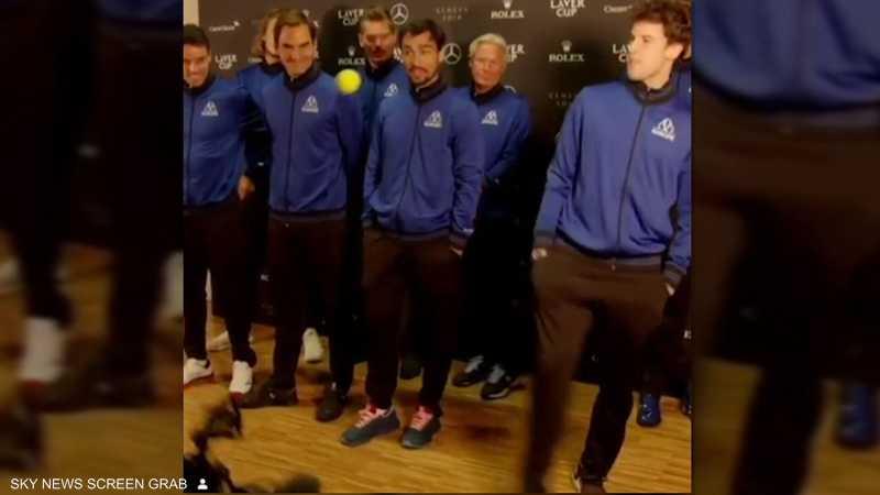 نجوم التنس.. مهارات متنوعة