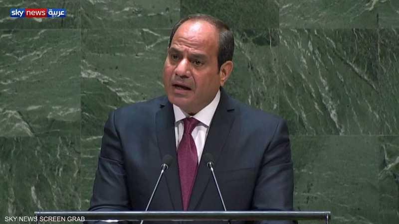 السيسي يدعو لحل سياسي للصراع في اليمن
