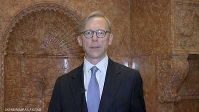 هوك لسكاي نيوز عربية: سنواصل سياسة العقوبات ضد إيران