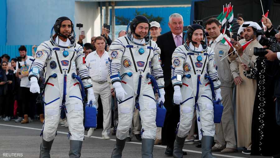 يعد المنصوري أول رائد فضاء عربي يزور محطة الفضاء الدولية التي شيدت في العام 1998 وبدأت باستقبال رواد الفضاء في نوفمبر 2000.