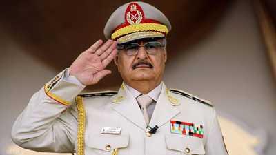 حفتر: العملية الديمقراطية تصطدم بمعارضة الإرهابيين