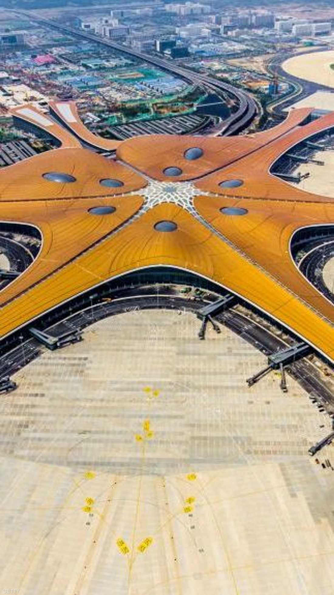 """مطار """"داشينغ"""" الدولي الجديد في بكين"""