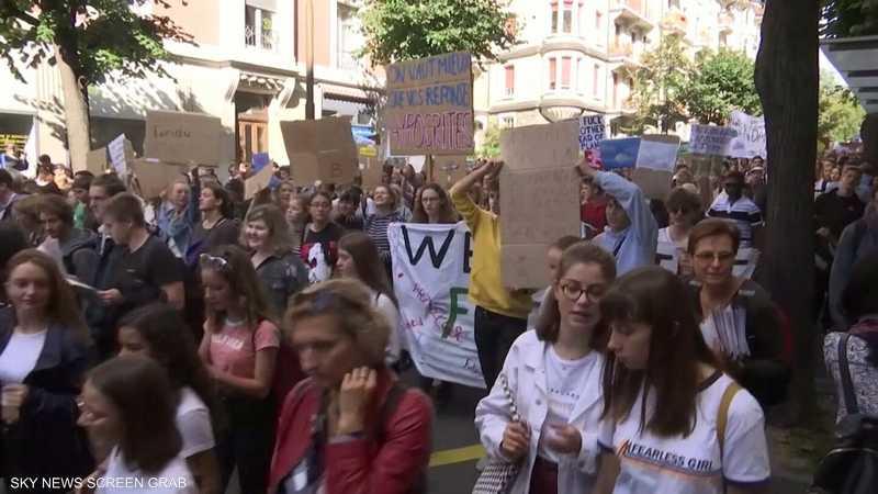 مسيرات لملايين الأطفال