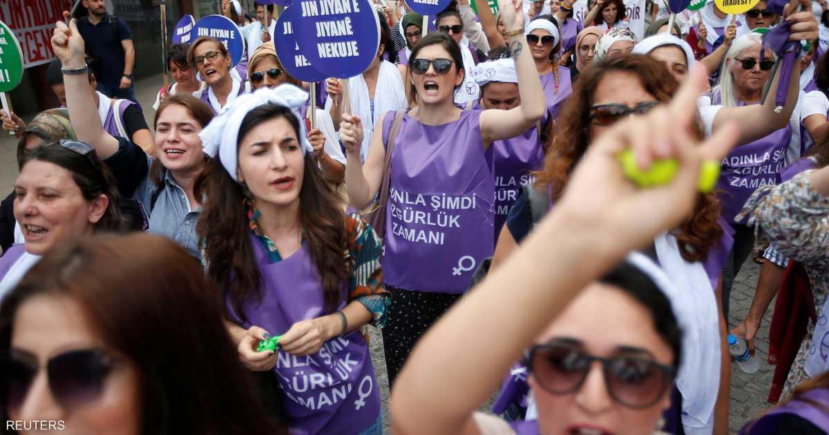 غضب النساء يشعل تركيا.. و حزب أردوغان  في ورطة   أخبار سكاي نيوز عربية