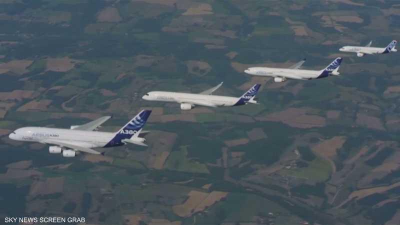 واشنطن تفرض رسوما 10% على طائرات الاتحاد الأوروبي
