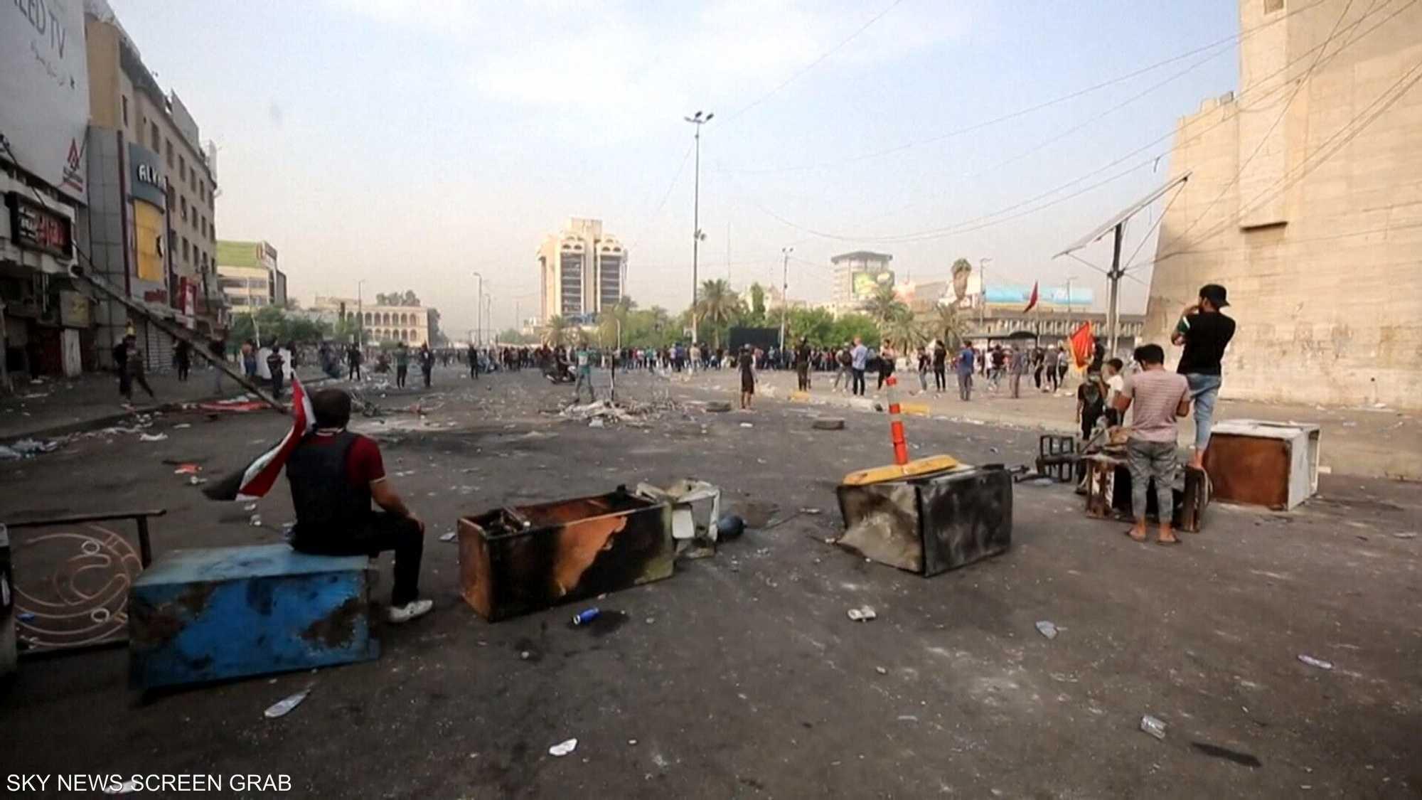 مظاهرات منددة بالهيمنة الإيرانية على العراق