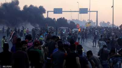 """""""الملابس السوداء"""" تكشف فضيحة إيران في احتجاجات العراق"""