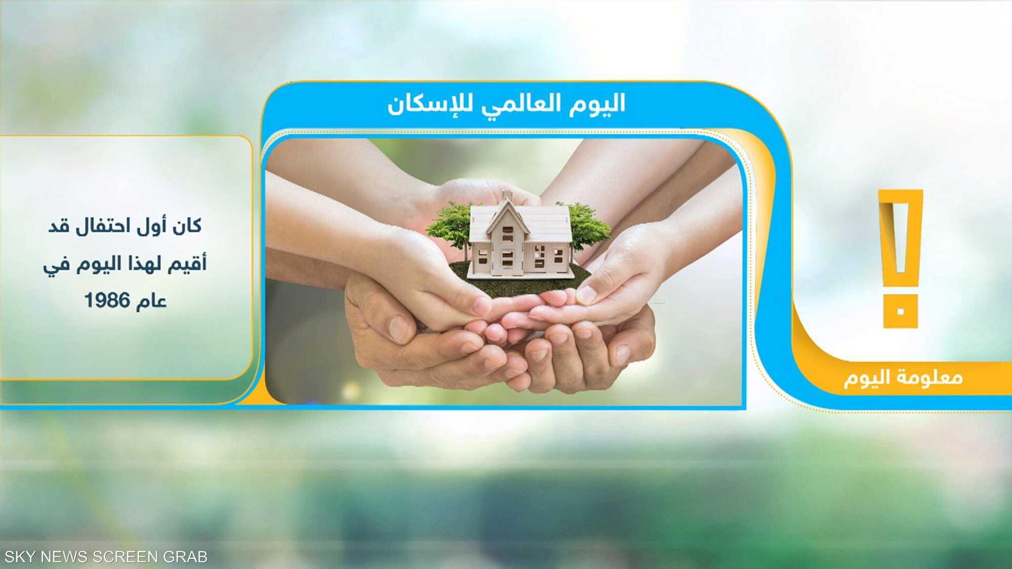 اليوم العالمي للإسكان
