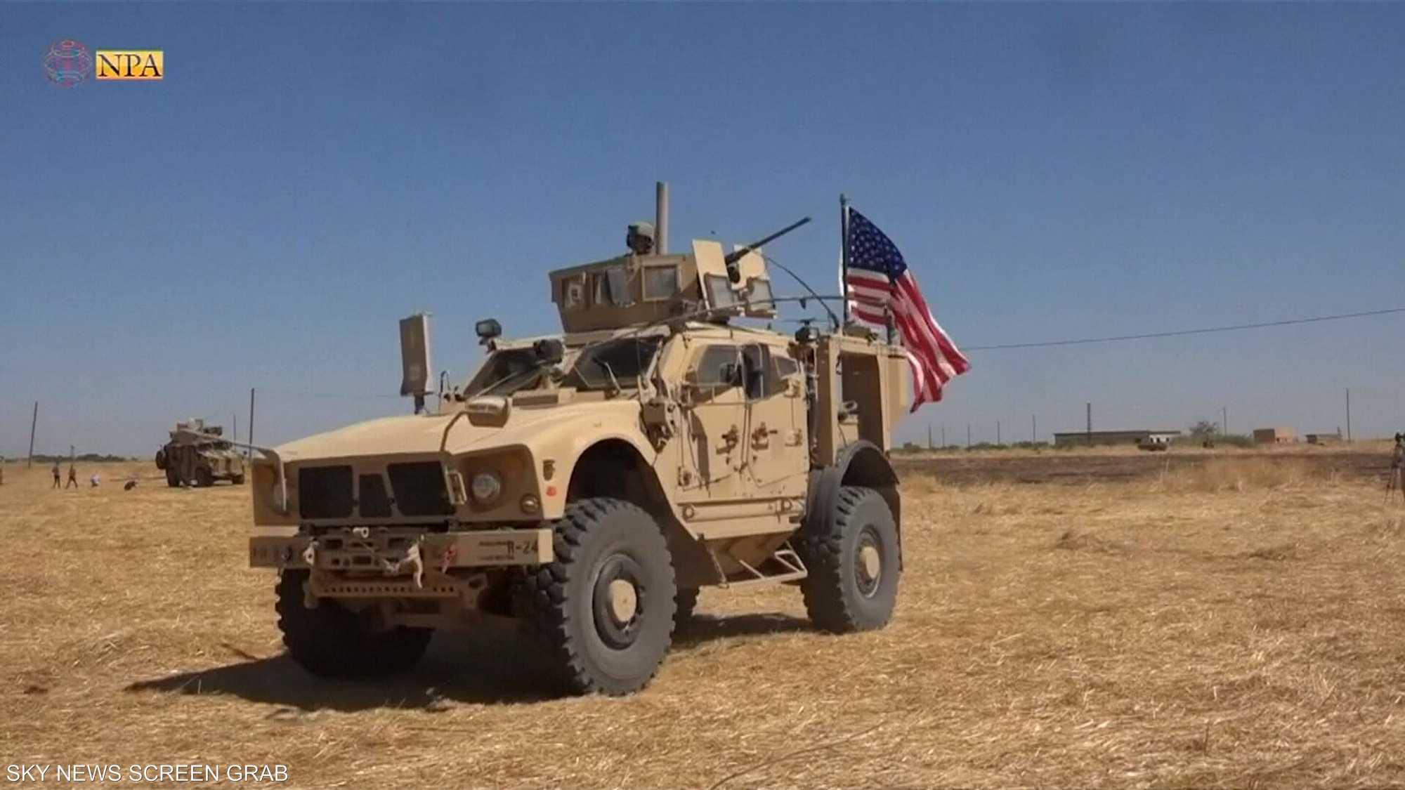 القوات الأميركية تخلي موقعين للمراقبة بسوريا