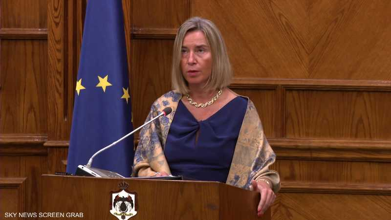 موغريني تؤكد التزام الاتحاد الأوربي بحل الدولتين
